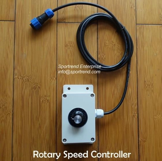 Rotary Speed Controller for Brushless Trolling Motors