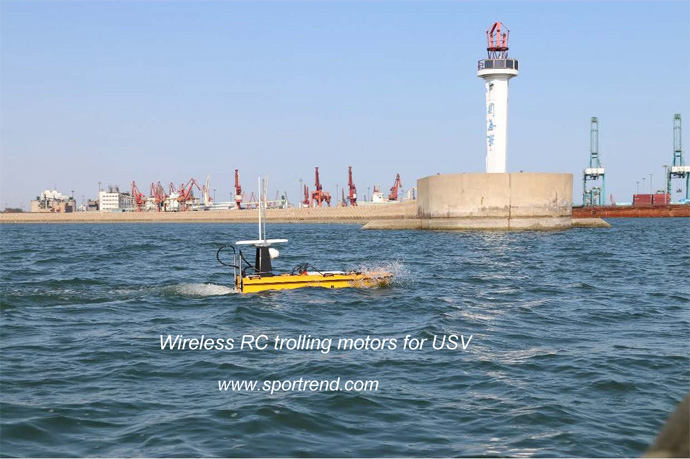 Wireless RC trolling motors launched succesfully in 2019